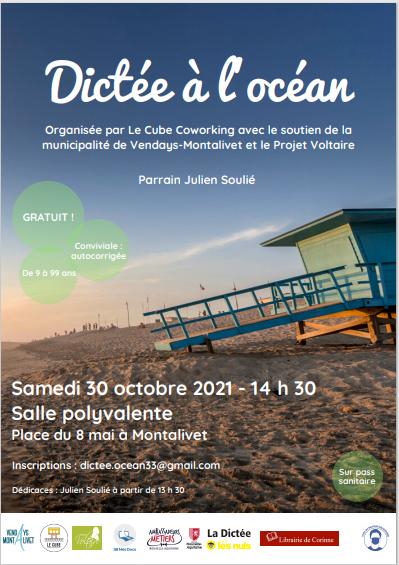 Dictee ocean - SB Mes Docs participe: dictée à l'océan